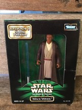 Star Wars MACE WINDU Episode I Sneak Preview Toy Figure NEW POTF Kenner - $2.96