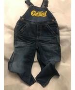 Oshkosh BGosh Denim Vestbak Jeans Pants Overalls NYC 4t 4T Toddler Bib O... - $22.00