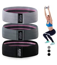 AMEXI Resistance Bands for Legs and Butt,Exercise Bands Set Workout Bands for Wo