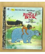 FIRST Little Golden Book -- WALT DISNEY'S THE JUNGLE BOOK by Cindy West ... - $3.50