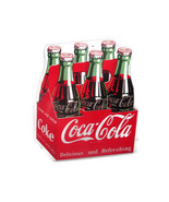 Coca-Cola 6-pack Contour Bottle Sign 16 x 14 inches   - BRAND NEW - $35.63