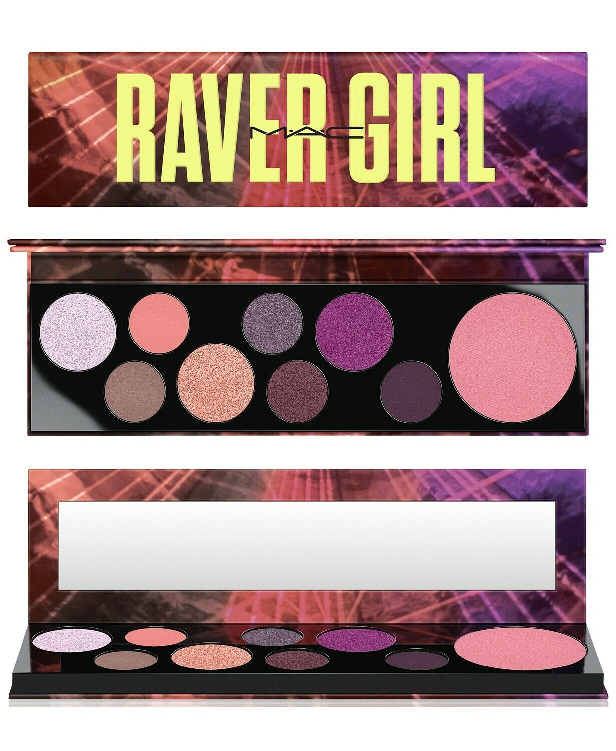 Primary image for MAC Cosmetics –  Raver Girls Eyeshadow & Highlighter Palette