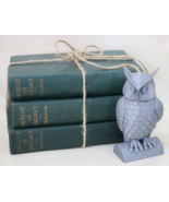 Valley of Democracy Meredith Nicholson Lot of 3 Green Stacked Book Shelf... - $32.95