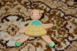 Old Vintage Wooden Levi Italy Südtirol Ballerina String Puppet - $57.83