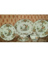 FREE SHIPPING! Wedgwood Eastern Flowers Pattern No. T.K.P. 426 33 Pieces! - $365.00