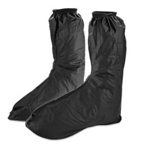 Pair of Mens Non-slip Rainproof High-top Overshoes Shoe Covers XXL Zippered - £18.34 GBP