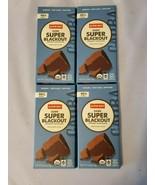Alter Eco Dark Super Blackout Organic Chocolate 4 Bars 90% Cocoa Fair Trade - $33.15