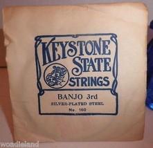 1 Vintage Keystone State Banjo 3rd Silverplated... - $7.95