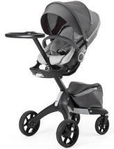 Stokke Xplory Athleisure stroller  limited edition true gray black frame - $950.00
