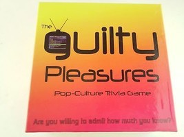 Kheper The Guilty Pleasures Pop Culture Trivia Board Game 300 Cards - $16.48