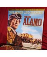 HTF! AC-3 Stereo Edition 'THE ALAMO' Restored Roadshow Cut on Laser Disc... - $143.55