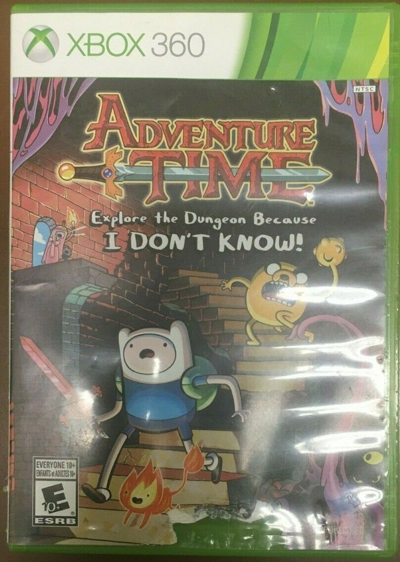Primary image for ADVENTURE TIME EXPLORE THE DUNGEON BECAUSE I DON'T KNOW! XBOX 360 #I-297 C