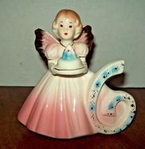 Josef Originals Birthday 6 Year Old Figurine Cake Topper Angel Age 6  - $24.74