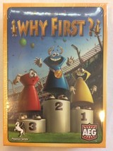 Why First? Simon Havard Board Game Brand New Sealed Free Shipping - $14.00