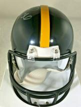 "JEROME BETTIS / NFL HALL OF FAME / AUTOGRAPHED STEELERS MINI HELMET / ""BUS"" HOLO image 4"