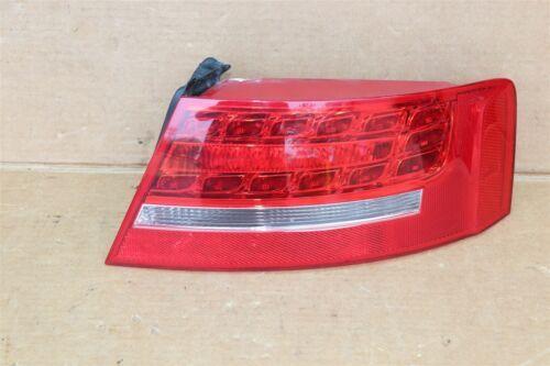 08-12 Audi A5 LED Tail Light Lamp Outer Passenger Right RH