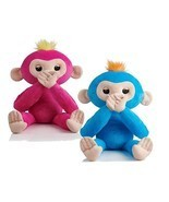 Fingerlings HUGS Bella & Boris Set 2 Advanced Interactive Plush Baby Pet... - £57.34 GBP
