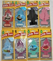 8, Spice, Bubble Gum,++++++ Little Trees Hanging Car and Home Air Freshener - $10.79