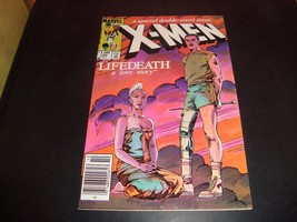 X-Men 186 Marvel Comic Book FN 7.0 Condition 1984 X-Men / Lifedeath - $2.69