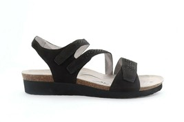 Abeo Camille Sandals  Black Stones Size US 10 Neutral Footbed (EPB)3864 - $89.00