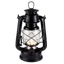 Vintage LED Hurricane Lantern, Warm White Battery Operated Lantern, Anti... - $23.56