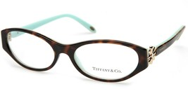 New Tiffany & Co. Tf 2067-B 8134 Havana Eyeglasses Frame 53-16-135 B32 Italy - $113.84