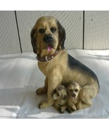 Doggy with Puppies figurine - $10.00