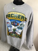 VTG Starter Sweatshirt Super Bowl 32 Packers NFL 90s Large Broncos Football - $19.99