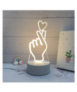 3D LED Lamp Creative Night Lights Novelty Night Lamp Table Lamp For Home 1 - £9.08 GBP