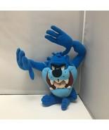 Nanco Looney Tunes Blue Taz Tasmanian Devil Plush Stuffed Animal Soft To... - $49.99