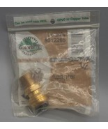 """GatorBITE 1/2"""" x 1/2"""" Couplings Adapter MNPT with Stop Lowes 212265 - $8.90"""