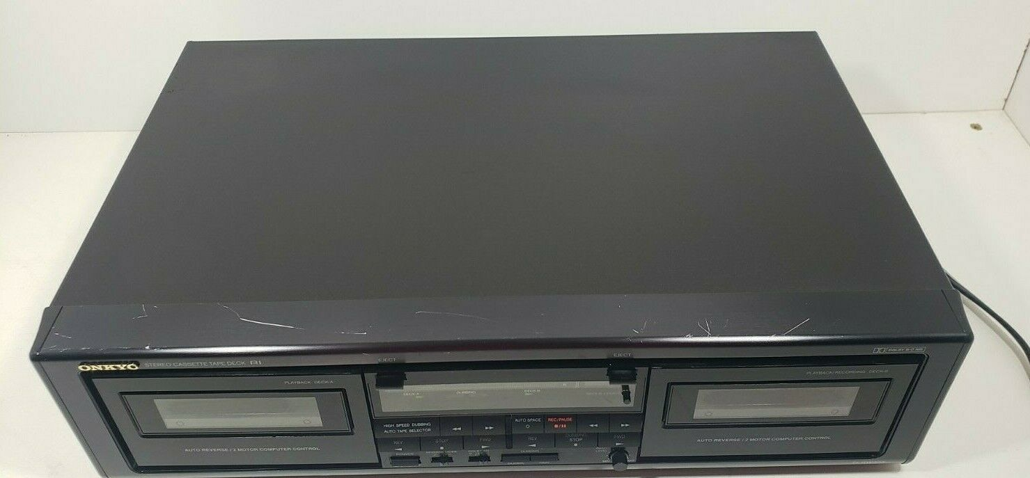Onkyo Stereo Cassette Tape Deck TA-RW303 Tested image 5