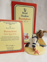 ROYAL DOULTON Bunnykins Figurine of Year 1997 Sailor DB166 With Box and ... - $34.60