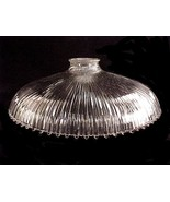 "Holophane Pendant Light Shade 11"" Floor Lamp Clear Glass Franklin 1905 A... - $34.95"