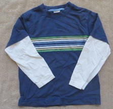 EUC Gymboree Frog Pond Double Sleeve Striped Shirt Size 3 - $2.99