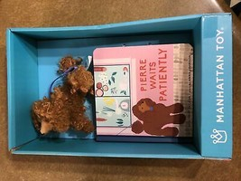 The Manhattan Toy Company Mini Poodle Stuffed Animal and Board Book Gift... - $14.95