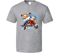 Daryl Moose Johnston Dallas Football Caricature Vintage T Shirt - $18.49+