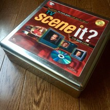 TV Scene It? DVD Game Holographic Metal Tin Video Trivia 2006 Game Of Th... - $15.14