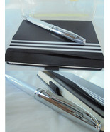 PELIKAN JAZZ Gift SET White ball pen with notebook New in box - $34.00
