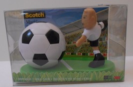 Scotch Magic Tape Dispenser Soccer NWT - €5,29 EUR