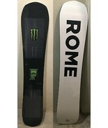 Monster x Rome Snowboard- NEW SEALED  - Rare Limited Edition 156cm - $632.61