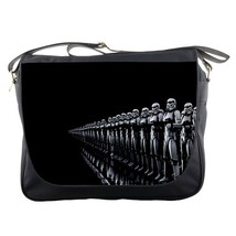 Messenger Bag Star Wars Soldier Black Elegant Design Animation Battle Space Gala - $30.00