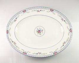 Wedgwood Porcellana Servire Piatto Rosedale Design R4465 35.6cm lungo Ottime - $99.07