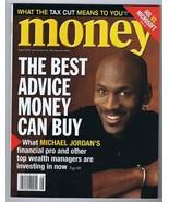 ORIGINAL Vintage August 2001 Money Magazine Michael Jordan Bulls No Label - $27.83