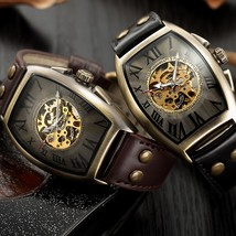 Shenhua 2019 Vintage Automatic Watch Men Mechanical Wrist Watches Mens F... - $42.05