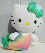 TY Sanrio Plush Hello Kitty Mermaid Beanie Babies Stuff Animal Kitten Ca... - $11.63