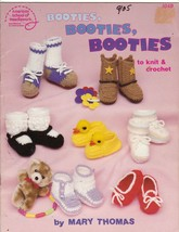 Booties Crochet & Knit Patterns for Baby Cowboy High Tops Ducks Mary Janes  - $8.00
