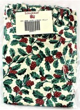 LONGABERGER 1998 Liner Winter Wishes Holly #265577 - $11.87