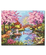 LIUDAO Paint by Number Kit - Oil Painting on Canvas for Adults Beginner ... - $11.14