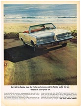 Vintage 1964 Magazine Ad Pontiac Is A Low Priced How Could Anybody Go Wrong - $5.93